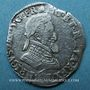 Monnaies Henri IV (1589-1610). 1/2 franc 1604 M. Toulouse