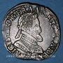 Monnaies Henri IV (1589-1610). 1/2 franc 1606(?) M. Toulouse