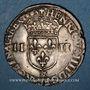 Monnaies Henri IV (1589-1610). 1/4 d'écu, 2e type, 1603 &. Aix
