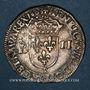 Monnaies Henri IV (1589-1610). 1/4 d'écu, 2e type, 1603 K. Bordeaux