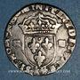 Monnaies Henri IV (1589-1610). 1/4 d'écu, 2e type, 1605 K. Bordeaux
