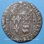 Monnaies Henri IV (1589-1610). 1/4 d'écu de Béarn 1600. Morlaas