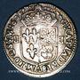 Monnaies Henri IV (1589-1610). 1/4 d'écu de Béarn 1608. Morlaas