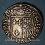 Monnaies Henri IV (1589-1610). 1/4 d'écu de Navarre 1591. Saint-Palais