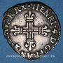 Monnaies Henri IV (1589-1610). 1/4 d'écu de Navarre 1599. Saint-Palais