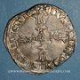 Monnaies Henri IV (1589-1610). 1/4 d'écu du Dauphiné 1603 Z. Grenoble