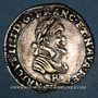 Monnaies Henri IV (1589-1610). 1/4 franc (1602) R. Saint-André-de-Villeneuve-les-Avignon