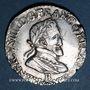 Monnaies Henri IV (1589-1610). 1/4 franc 1604 B. Rouen
