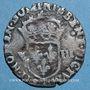 Monnaies Henri IV (1589-1610). 1/8 d'écu, 2e type, 1605 T. Nantes