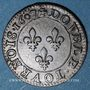 Monnaies Henri IV (1589-1610). Double tournois 1607 A