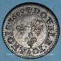 Monnaies Henri IV (1589-1610). Double tournois 1609 A