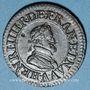 Monnaies Henri IV (1589-1610). Double tournois 1610 A
