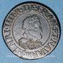 Monnaies Henri IV (1589-1610). Double tournois 1610 T. Nantes