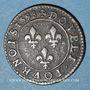 Monnaies Henri IV (1589-1610). Double tournois, 1er type, 1598 A