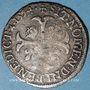 Monnaies Henri IV (1589-1610). Douzain, 2e type, 1594 C. Saint-Lô