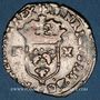Monnaies Henri IV (1589-1610). Douzain, 2e type, 1594 N. Montpellier