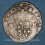Monnaies Henri IV (1589-1610). Douzain, 2e type, 1595. Grenoble