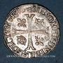 Monnaies Henri IV (1589-1610). Douzain, 2e type, 1595 O. Riom