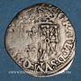 Monnaies Henri IV (1589-1610). Douzain de Navarre, 2e type, 1591. Saint-Palais