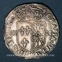 Monnaies Henri IV (1589-1610). Henri IV (1589-1610). 1/4 d'écu de Navarre 1591. Saint-Palais