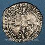 Monnaies Henri V d'Angleterre (1415-1422). Florette, 4e émission (16 juin 1420). Rouen