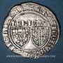 Monnaies Henri VI d'Angleterre (1422-1453). Blanc aux écus. Rouen