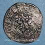 Monnaies Louis XI (1461-1483). Double tournois, 1ère émission (31 décembre 1461). Saint-Pourçain (point 11e)