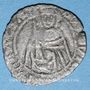 Monnaies Louis XI (1461-1483). Hardi, 1ère émission (18 octobre 1467). Bordeaux