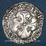 Monnaies Louis XI (1461-1483). Monnayage du duc de Bourgogne. Blanc à la couronne. Inédit !
