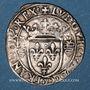 Monnaies Louis XII. Monnayage pour Milan (1499-1512). Gros royal de trois sous dit bissone