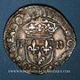 Monnaies Louis XIII (1610-1643). 1/4 d'écu, 1er type, 1627 L. Bayonne