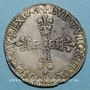 Monnaies Louis XIII (1610-1643). 1/4 d'écu 1er type 1643 F. Angers