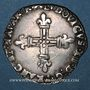 Monnaies Louis XIII (1610-1643). 1/4 d'écu de Navarre 1621 F. Saint-Palais