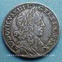 Monnaies Louis XIII (1610-1643). 15 sols, 1er poinçon de Warin, 1642 A
