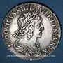 Monnaies Louis XIII (1610-1643). 15 sols, 2e poinçon de Warin 1642 A. Rose initiale