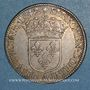 Monnaies Louis XIII (1610-1643). 15 sols, 2e poinçon de Warin 1642 A. Rose