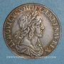 Monnaies Louis XIII (1610-1643). 15 sols, 2e poinçon de Warin 1642A. Rose