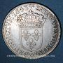 Monnaies Louis XIII (1610-1643). 15 sols, 2e poinçon de Warin 1643 D. Lyon
