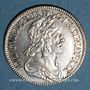 Monnaies Louis XIII (1610-1643). 15 sols, 2e poinçon de Warin 1643A