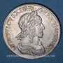 Monnaies Louis XIII (1610-1643). 15 sols, 2e poinçon de Warin 1643D. Lyon