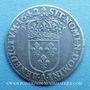 Monnaies Louis XIII (1610-1643). 5 sols, 2e poinçon de Warin 1642 A. Rose initiale