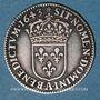 Monnaies Louis XIII (1610-1643). 5 sols, 2e poinçon de Warin 1643 A. Rose initiale