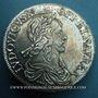 Monnaies Louis XIII (1610-1643). 60 sols, 2e poinçon de Warin, 1642 A. Point initial au revers