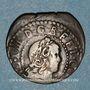 Monnaies Louis XIII (1610-1643). Comté de Barcelone. Sizain, 1er type, 1642. Barcelone