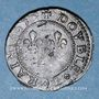 Monnaies Louis XIII (1610-1643). Double lorrain, 2e type, 1635. Stenay