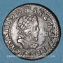 Monnaies Louis XIII (1610-1643). Double tournois, 2e type, 1612 &. Aix