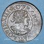 Monnaies Louis XIII (1610-1643). Double tournois, buste lauré et drapé 1630 D. Lyon