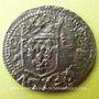 Monnaies Louis XIII (1610-1643). Douzain illégal émis par les Huguenots 162. (2 rétrograde)