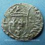 Monnaies Louis XIII (1610-1643). Douzain illégal émis par les Huguenots 162... (2 rétrograde)
