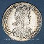 Monnaies Louis XIV (1643-1715). 1/12 d'écu à la mèche longue 1658D. Lyon